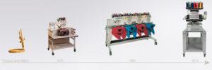 Evolución de las máquinas de bordar Melco