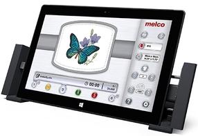 Las máquinas de bordar Melco tienen una Interfaz de usuario intuitiva